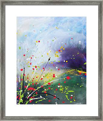 Spirits Of The First May Flowers Framed Print by Kume Bryant