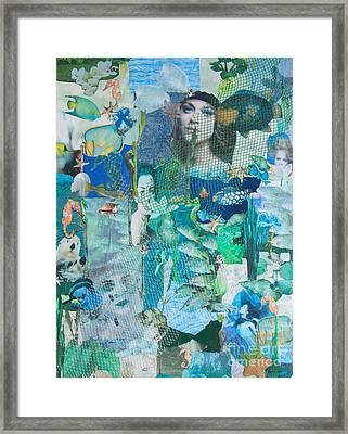 Spirits Of The Sea Framed Print