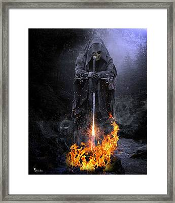 Spirits Released Framed Print