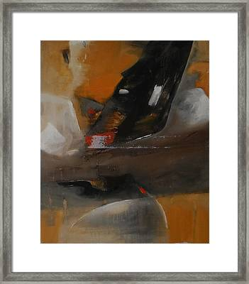 Spiritual Abstract Framed Print by Sonal Agrawal