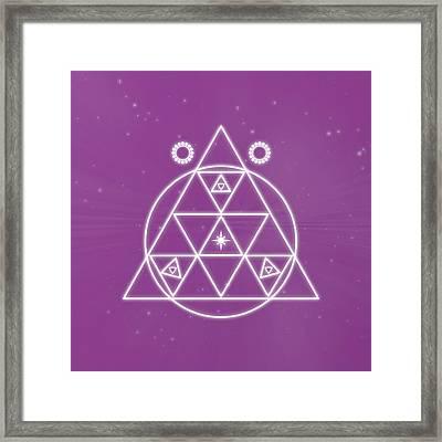 Spiritual Awakening Framed Print
