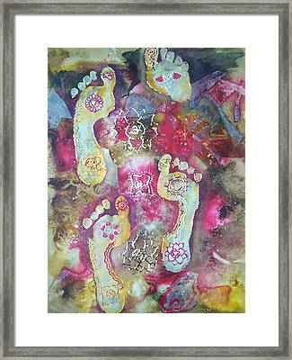 Spiritual Awakening Framed Print by Vijay Sharon Govender