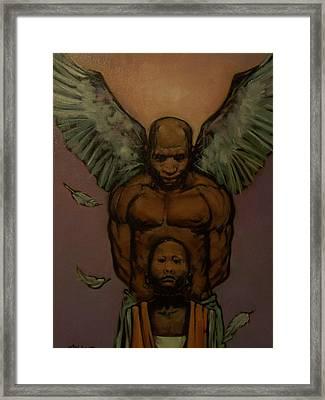 Spiritual Backing Framed Print by Derek Polite