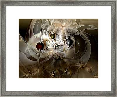 Framed Print featuring the digital art Spiritual Chops by Casey Kotas