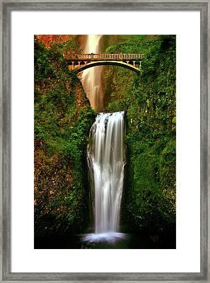 Spiritual Falls Framed Print