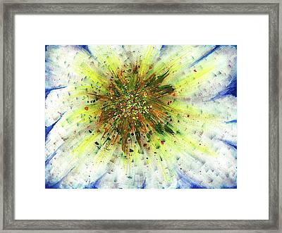 Spiritual Guidence - The Birth Of My Art #124 Framed Print by Rainbow Artist Orlando L aka Kevin Orlando Lau