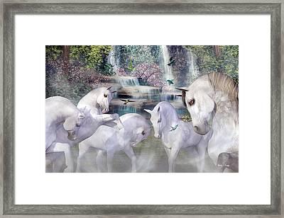 Spiritual Harmony Framed Print by Betsy Knapp