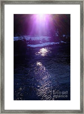 Spiritual Light Framed Print by Tatsuya Atarashi