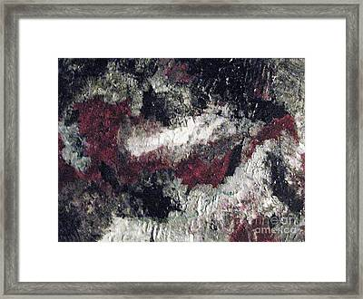 Spiritual Map Abstract Framed Print by Shelly Wiseberg