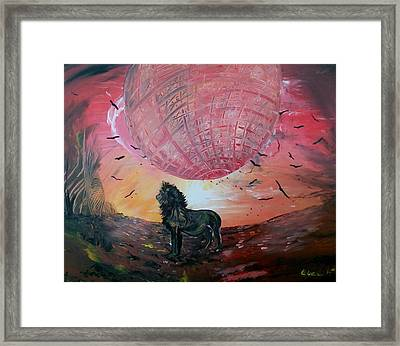 Spiritual Path Framed Print