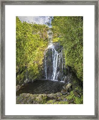 spiritual splash II Framed Print by Jon Glaser