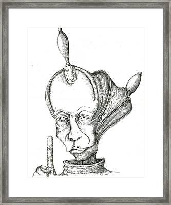 Spiritual Supercharger Framed Print by Sergei Mordas