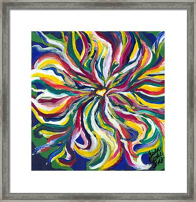 Spirituality Framed Print by Susan Cooke Pena
