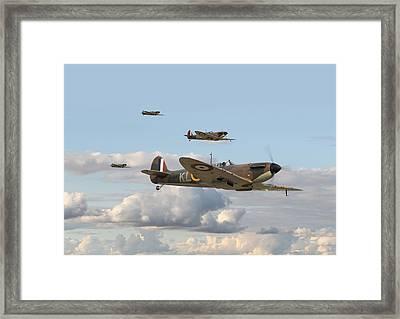 Spitfire - 54 Squadron Framed Print
