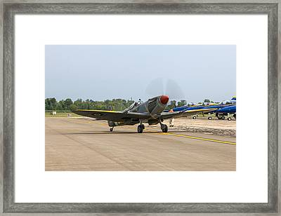 Spitfire Framed Print by Aircraft  In Motion