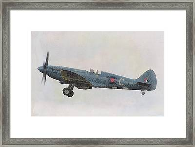 Spitfire Mk19 Framed Print by John Springfield