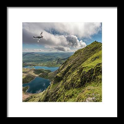 Snowdonia Framed Prints