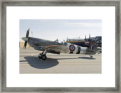 Spitfire Framed Print by Shoal Hollingsworth