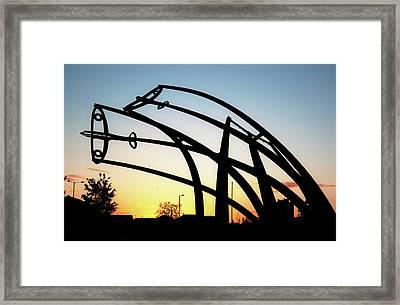 Spitfire Sunrise Framed Print