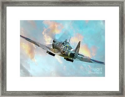 Spitfire - Valiant Knight Framed Print