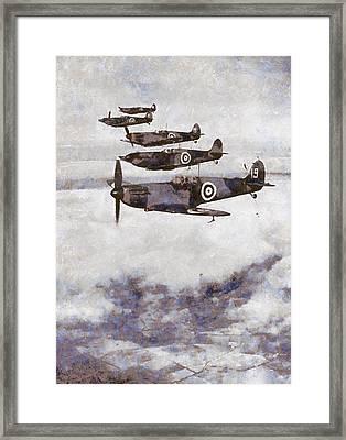 Spitfires Framed Print