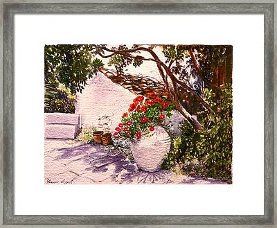 Spitimou Framed Print by Yvonne Ayoub