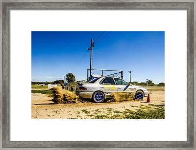 Spittin' Dirt Framed Print by Joel Rood