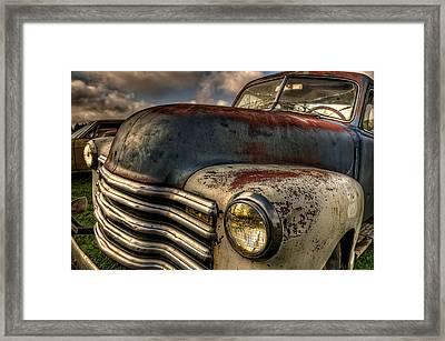 Spittin Rust Framed Print