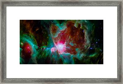 Spitzer's Orion Framed Print