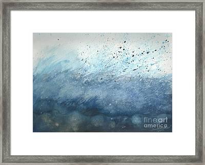 Splash   Framed Print by Janet Hinshaw