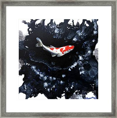 Splash 2 Framed Print by Sandi Baker
