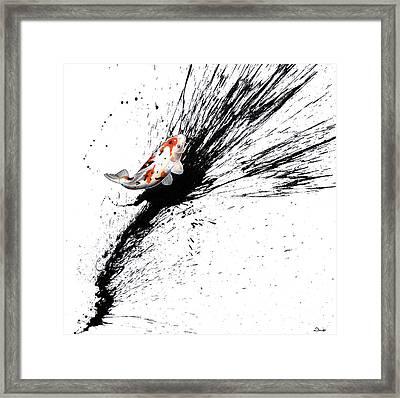 Splash 3 Framed Print by Sandi Baker