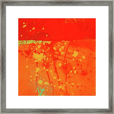Splash 6 Framed Print by Jane Davies