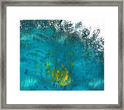 Splash Framed Print by Jack Zulli
