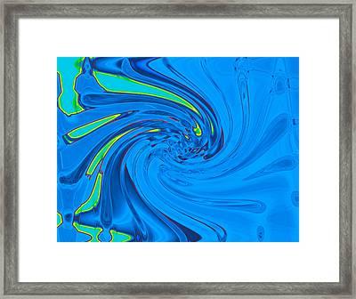 Splash Framed Print by Joshua Sunday