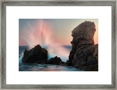 Splash  Framed Print by Nicki Frates