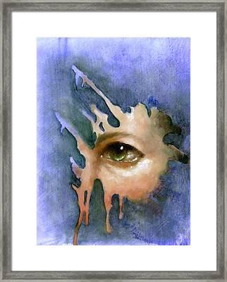 Splash Of Color Framed Print by Ulysses Albert III