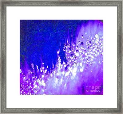 Splash Of Gods Favor Framed Print