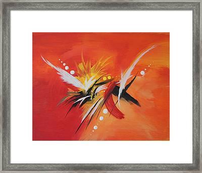 Splash Of Imagination Framed Print by Art Spectrum