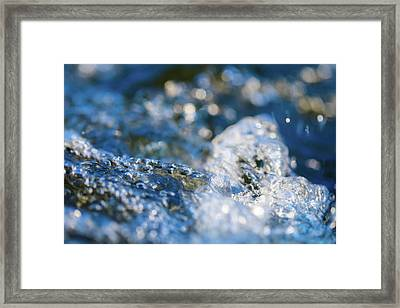 Splash One Framed Print
