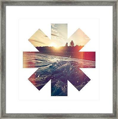 Splash Framed Print by Rhcp