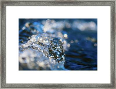 Splash Three Framed Print