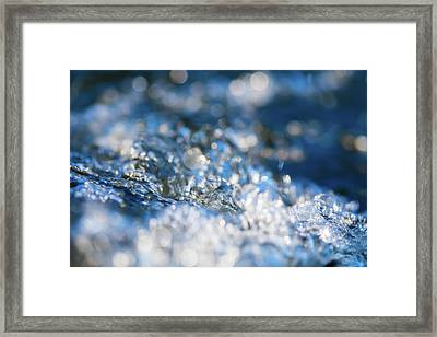 Splash Two Framed Print