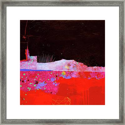 Splash#3 Framed Print by Jane Davies