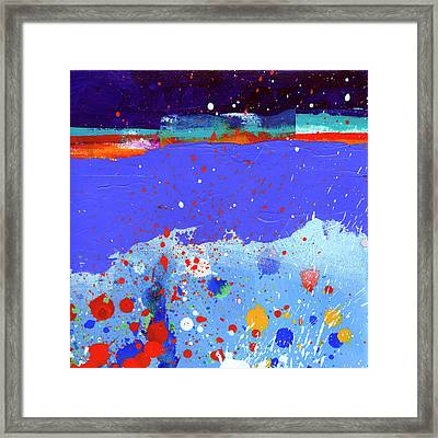 Splash#5 Framed Print by Jane Davies