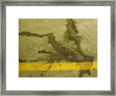Splat Framed Print by Anna Villarreal Garbis