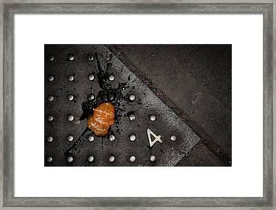 Splat Framed Print by Wayne Stadler