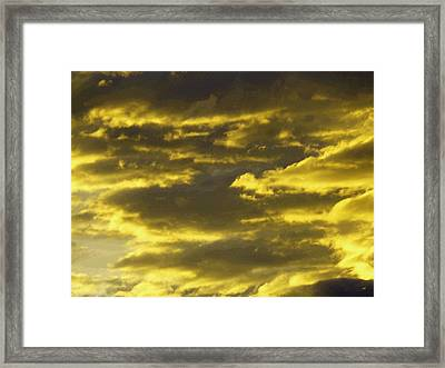 Splendid Cloudscape 10 Framed Print