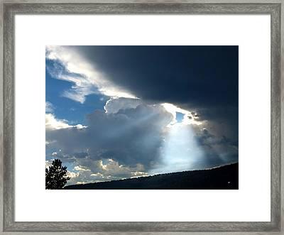Splendid Cloudscape 8 Framed Print
