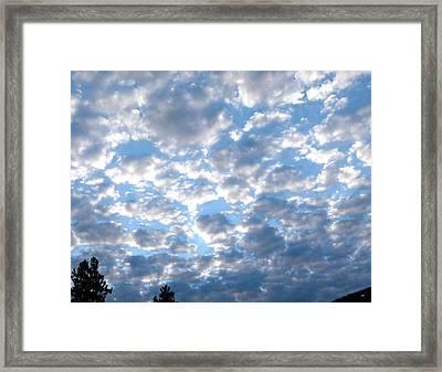 Splendid Cloudscape 9 Framed Print